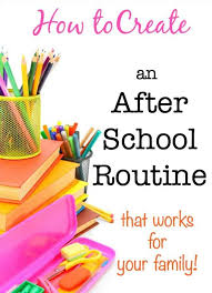Morning Routine Chart For 5 Year Old How To Create An After School Routine Momof6