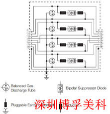 data signal spd for rj45 connector ethernet data cables cooper circuit diagram