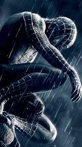 black spiderman wallpaper hd android