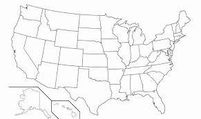 Blank Map Of The Us Printable Blank Us Map United States Maps And Us