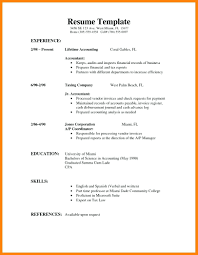 First Job Cv Resume Template For Students First Job