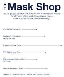 Cloth <b>Face Masks</b> - Washable & Reusable | Gap Factory