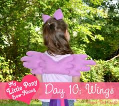 my little pony costume sew along day 10 pegasus wings