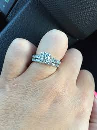 1 carat diamond size show me your size 8 fingers with 1 carat or smaller centers