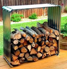 super easy diy firewood racks 3