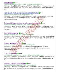 Military Resume Writers Delectable Craigslist Resume Writer Search For ALL Freelance Writing Jobs At