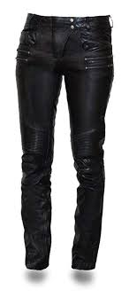 first mfg co vixen women s leather motorcycle pants black size 10