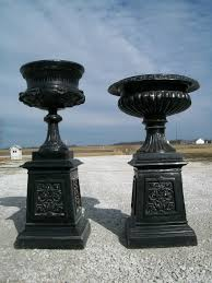 Decorative Large Urns Aluminum Planter Urns Fountains 74