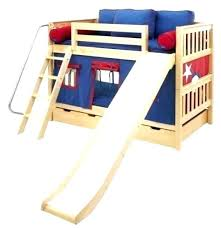 kids bunk bed with slide studiiburseinfo