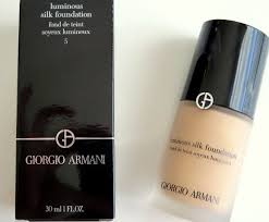 Giorgio Armani Luminous Silk Foundation Shade 5 Review Swatch