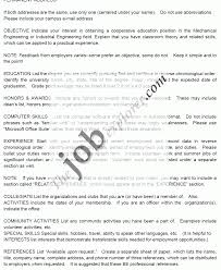 Resume Interests Examples Resume Template Sample