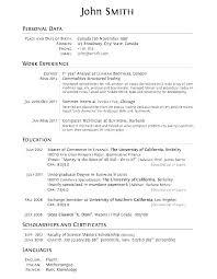 Resume Listing Education Blaisewashere Com