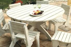 diy round outdoor table. Great Round Wood Patio Table Impressive Lovely Dining Sets In Outdoor Ideas Diy E