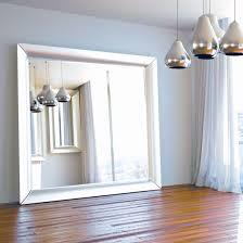 floor mirror. Oversized Silver Floor Mirror