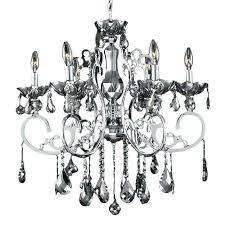 smoke crystal chandelier restoration hardware orb foucaults 60