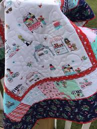 Easy Baby quilt kits | SewMod & Vintage Market quilt kits Adamdwight.com