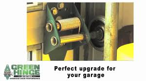sealing overhead garage doors green hinge system