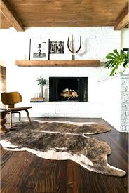 ikea hide rug cow rugs screen fireplace for living room with cowhide and white canada skin ikea hide rug