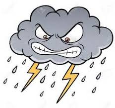 Image result for clipart stormy weather