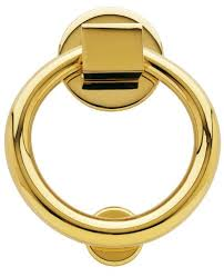 baldwin 0195 ring style solid br door knocker lifetime polished br