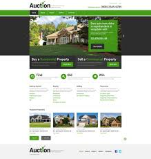 Buy Web Page Design Real Estate Agency Responsive Website Template