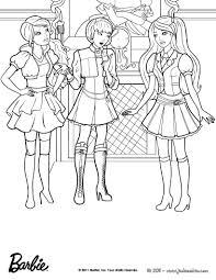 Coloriage Barbie Les Beaux Dessins De Dessin Anim Imprimer Et