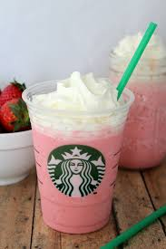 Image result for chocolate chip strawberry frappuccino recipe