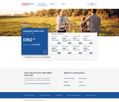 On Line Cards Managing Credit Cards Online Banking Tesco Bank