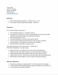 Resume Examples For Dental Assistant Sidemcicek Com