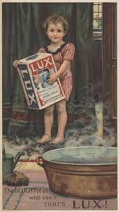 old advertising ephemera lux soap child bathtub for 0 10 00