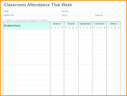 Whats More Picture Showed Above Is Monthly School Attendance Tracker ...