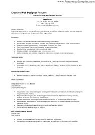 Resume Format For Web Designer 8 Splendid Design Ideas 7 Sample