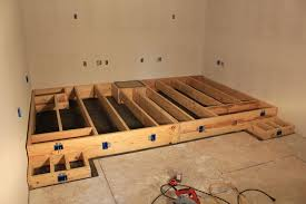 home theater step lighting. home theater construction and diy projects step lighting