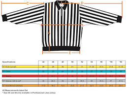 Ccm Referee Pants Size Chart Force Pro Officiating Jersey Linesman