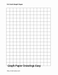 Graph Paper Template Pdf Luxury Graph Paper Drawings Easy Yalenusblog