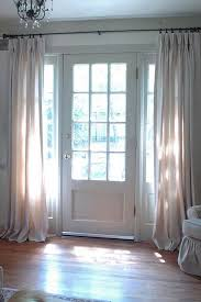 front door curtains. I Did This, First To Keep Out The Cold Air In Winter. Now Am Finding That Some Thimes Like Them Closed At Night. Well Here\u0027s An Idea - Front Door Drapes Curtains C