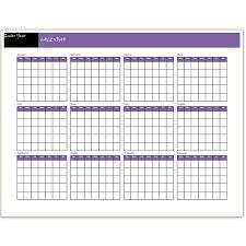 free printable 12 month calendar blank 12 month calendar template oyle kalakaari co