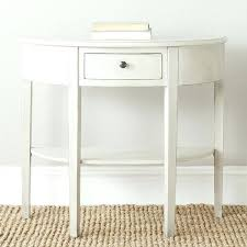 half circle accent table stunning half round accent table best ideas about half moon console table half circle accent table