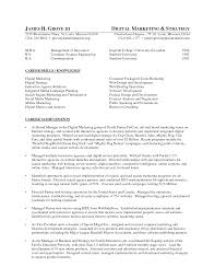 Social Media Resume Example Social Media Marketing Cv Example Sample Resume For Digital Career
