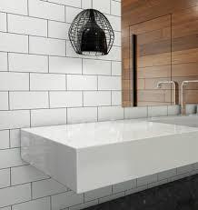 white subway tiles. Simple White Image 1 On White Subway Tiles W