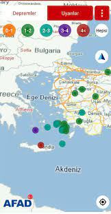 Girit Adası açıklarında 5.7 büyüklüğünde deprem - Dijitolog