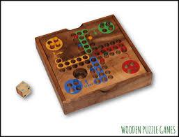 Wooden Ludo Board Game Ludo Mensch ärgere dich nicht 92