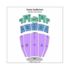Seating Chart For Ovens Auditorium In Charlotte Uncommon Ovens Auditorium Seating Chart Seat Numbers