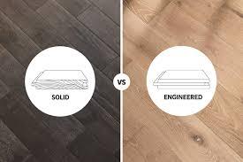 solid hardwood vs engineered wood