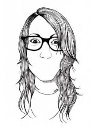 Ink Pen Illustrations By Diletta Strange Pen Portraits Ink Art