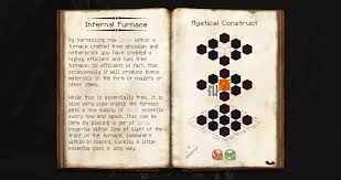 thaumcraft cheat sheet 1 7 10 infernal furnace thaumcraft 4 wiki fandom powered by wikia
