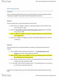 psy 2010 lecture 2 apa citation