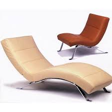 Outstanding Curved Chaise Lounge Chair Pictures Decoration Ideas