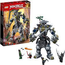 Amazon.com: LEGO NINJAGO Masters of Spinjitzu: Oni Titan 70658 Building Kit  (522 Pieces): Toys & Games