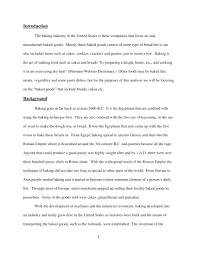 Industry Analysis Example 24 Industry Analysis Examples PDF 1